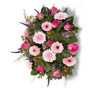 Bloemen voor de uitvaart