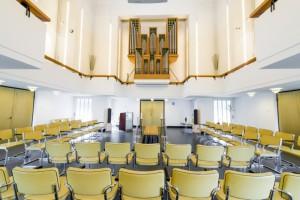 aula 1 crematorium/begraafplaats Amersfoort/Rusthof