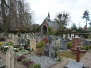 kerkhof naast SInt Vituskerk