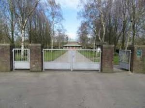 Ingang Nieuwe Algemene Begraafplaats | Naarderstraat