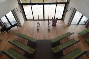 aula Crematorium Laren - vanaf balkon